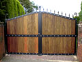 Metal Privacy Gates